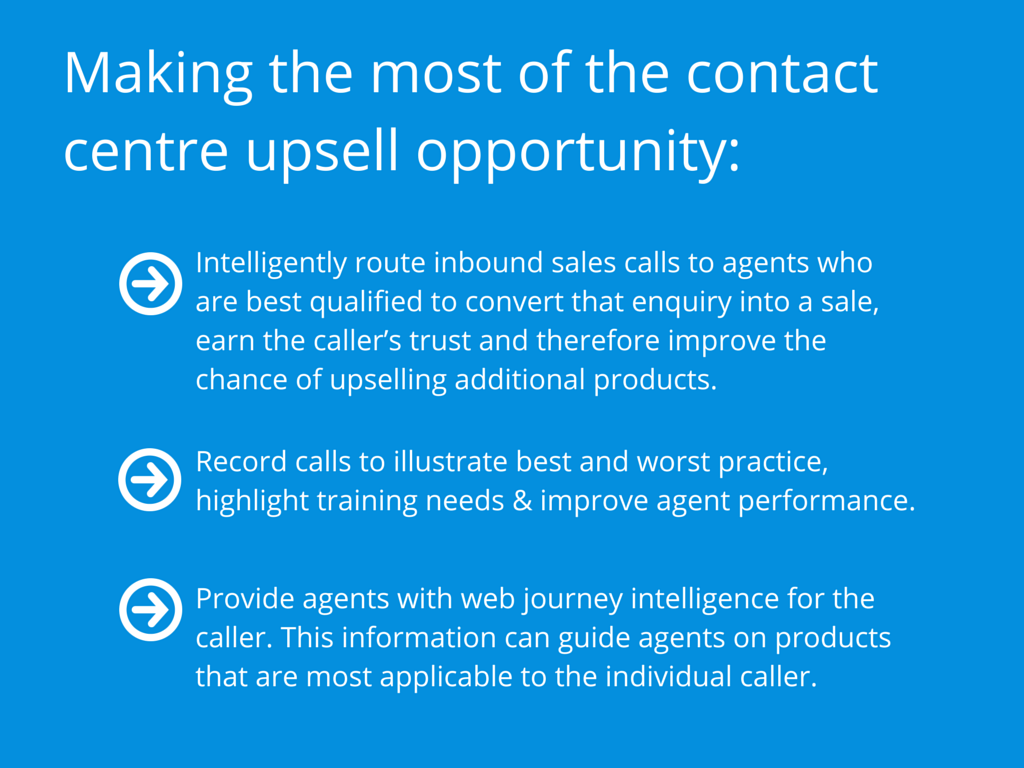 Making the most of the contact centre